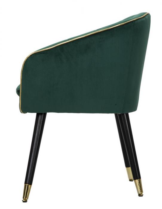 Fotoliu PARIS, verde, 62X58X78 cm, Mauro Ferretti 3