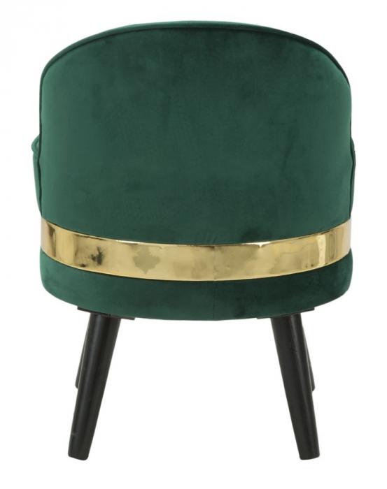 Fotoliu/Taburet PARIS, verde, 45X62 cm, Mauro Ferretti 3