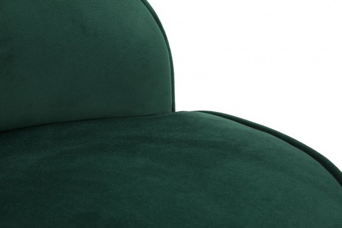 Fotoliu/Taburet PARIS, verde, 45X62 cm, Mauro Ferretti 6