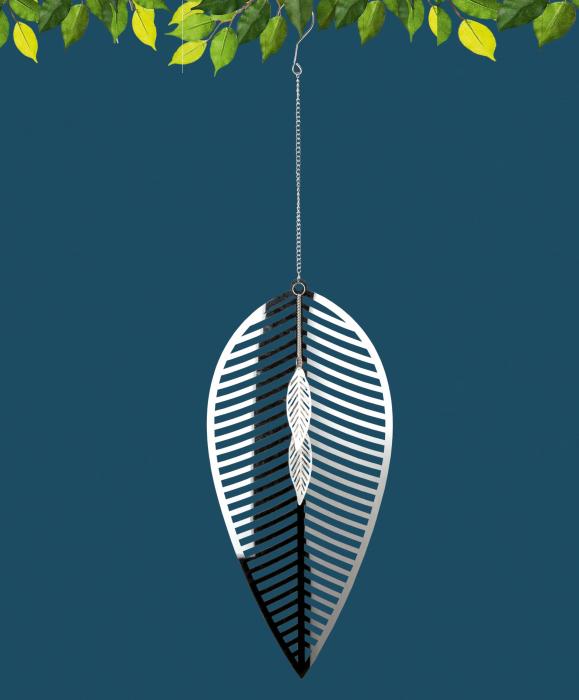 Ghirlanda FOGLIA, metal, 73x20 cm 0