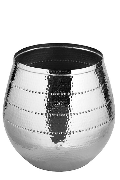 Ghiveci BARDO, aluminiu/nichel, 50x40 cm, Fink 0
