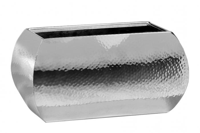 Ghiveci JARDIN, inox, 23x12x13 cm,Fink 0