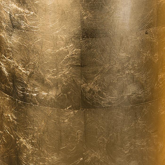Ghiveci KONUS, compozit, auriu, 115x40 cm 3