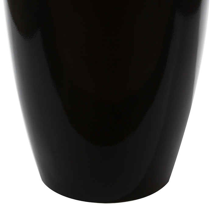 Ghiveci KONUS, compozit, negru, 115x40 cm 3
