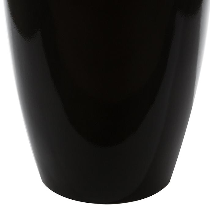 Ghiveci KONUS, compozit, negru, 92x36 cm 3