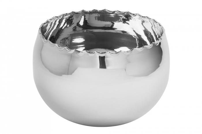 Ghiveci MERIDA, aluminiu, 14x20 cm, Fink [0]