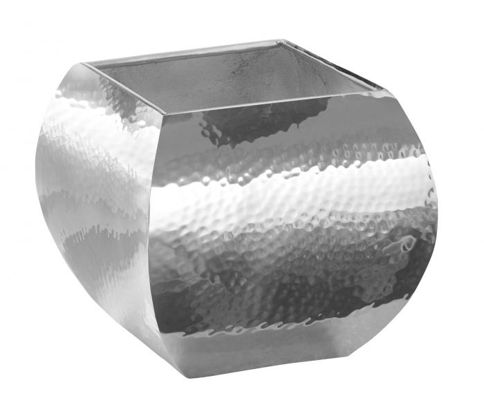 Ghiveci SQUARE, inox, 14x14x12 cm 0