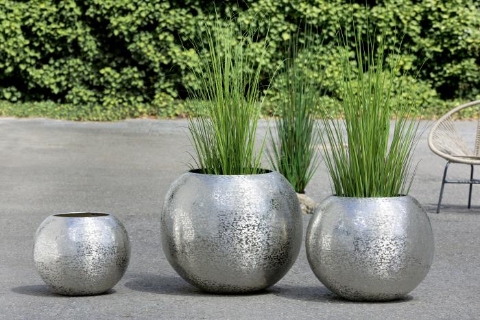 Ghiveci SULFURO, aluminiu, 51x46 cm 1