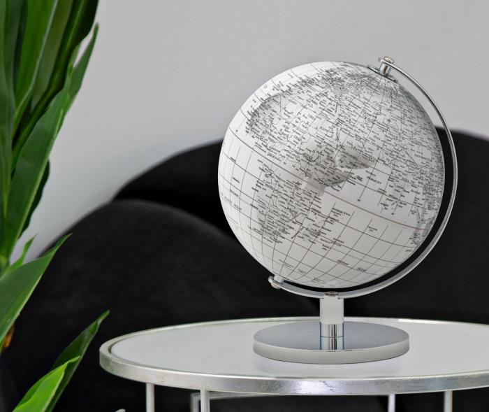 Glob alb/argintiu, CM Ø 20X28, Mauro Ferretti [0]