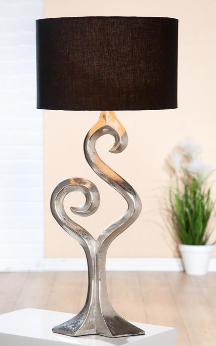 Lampa Luma, aluminiu, maro/argintiu, 10x69x31 cm [0]