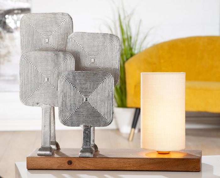 Lampa SQUARE, aluminiu, 49X15X41 cm 0