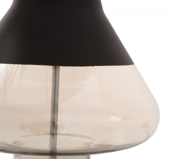 Lampa de masa ELEGANT-TWO negru (cm) Ø 36X60 4