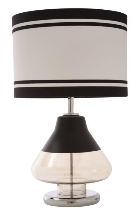 Lampa de masa ELEGANT-TWO negru (cm) Ø 36X60 0