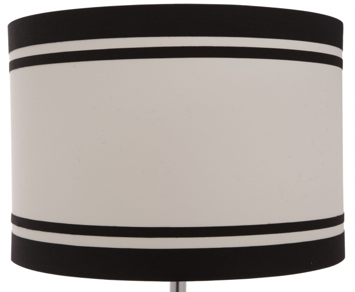 Lampa de masa ELEGANT-TWO negru (cm) Ø 36X60 3