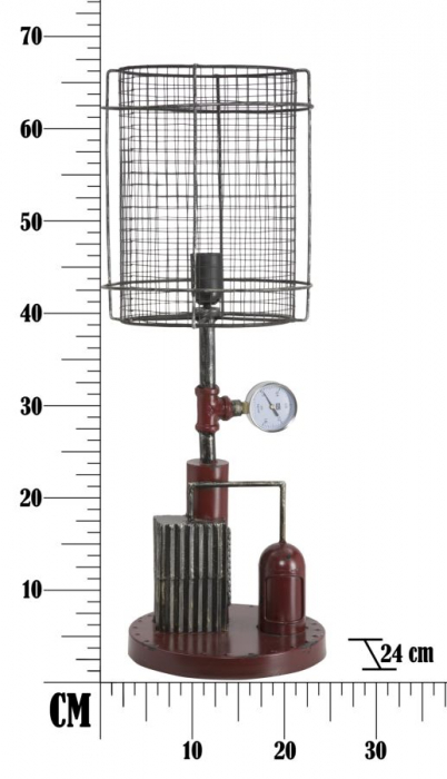 Lampa de masa ENGINE Ø (cm) 24X67 7