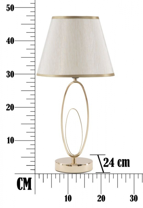 Lampa de masa GLAM FLUSH (cm) Ø 24X47 7