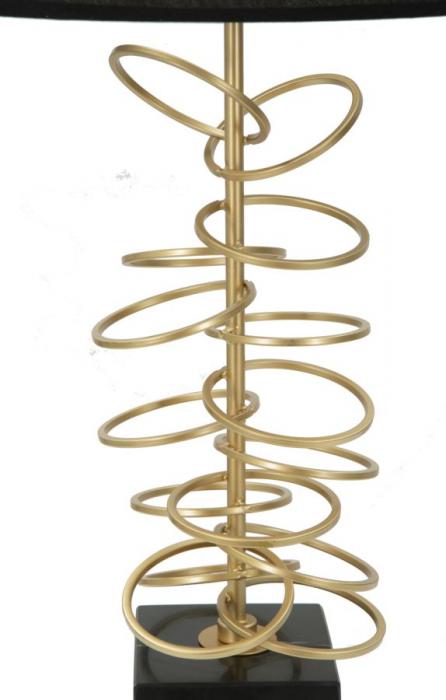 Lampa de masa GLAM RINGS (cm) Ø 35X62 1