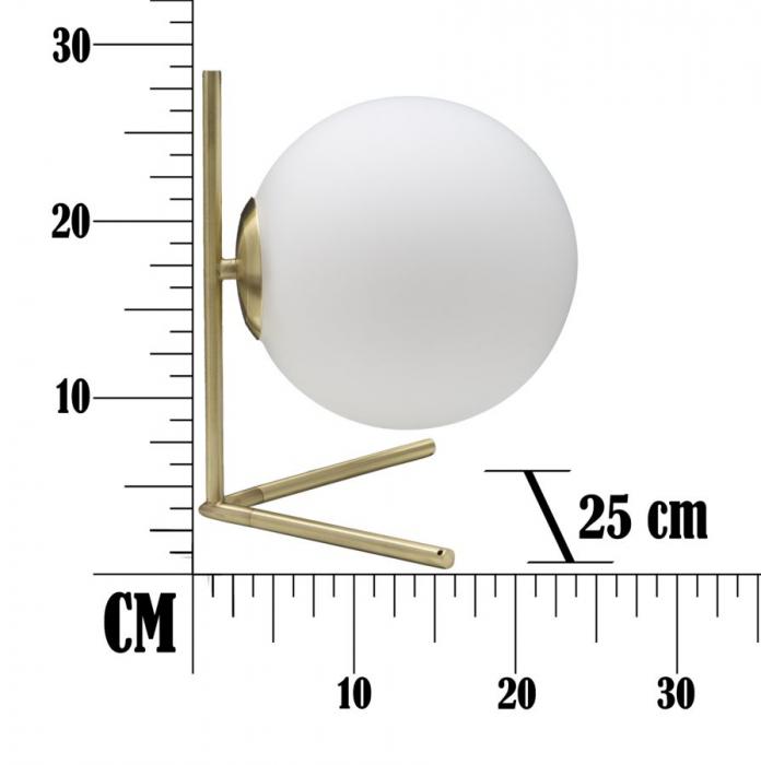 Lampa de masa GLAMY LOW (cm) 25X25X27 8