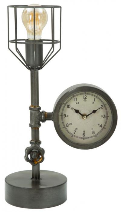 Lampa de masa INDUSTRY CLOCK (cm) 26X15X45 1