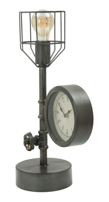 Lampa de masa INDUSTRY CLOCK (cm) 26X15X45 2