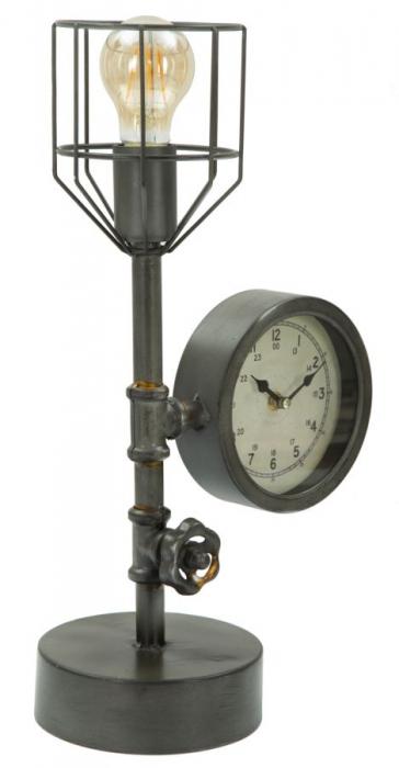 Lampa de masa INDUSTRY CLOCK (cm) 26X15X45 0