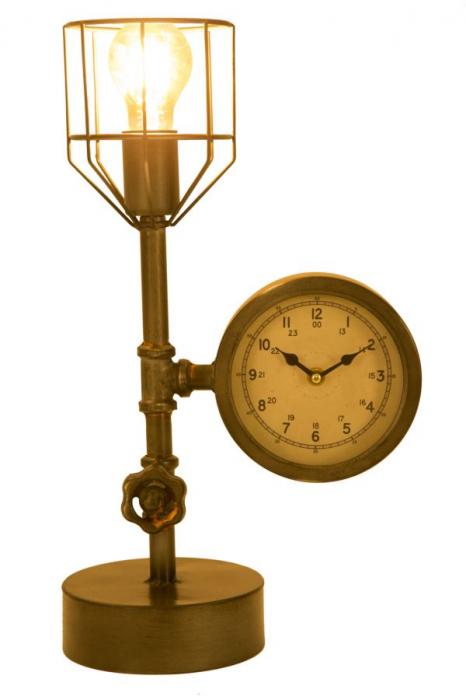 Lampa de masa INDUSTRY CLOCK (cm) 26X15X45 8