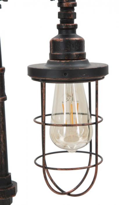 Lampa de masa MANHATTAN/CAGE (cm) 27X27X56 6