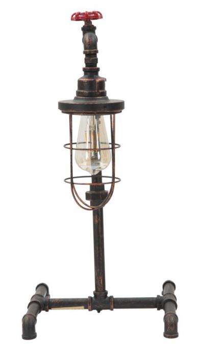 Lampa de masa MANHATTAN/CAGE (cm) 27X27X56 3