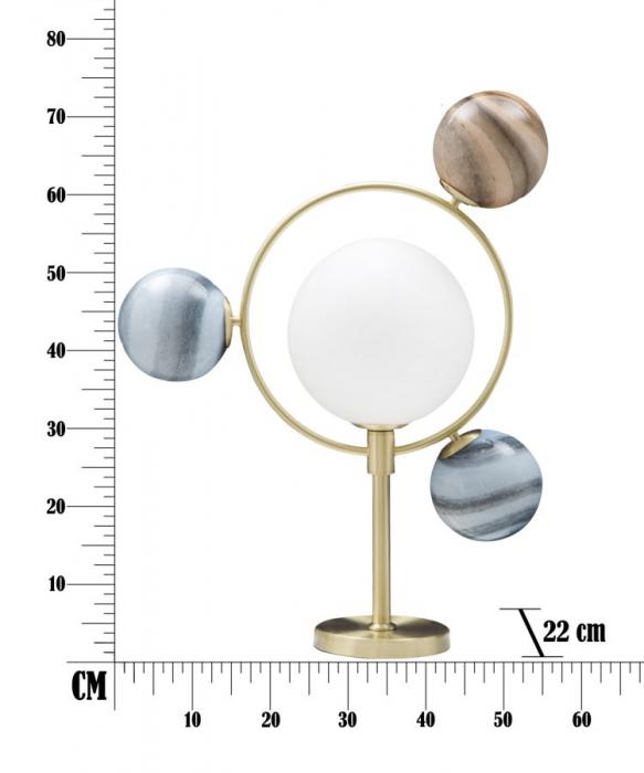 Lampa de masa UNIVERSO (cm) 54X22X74 7