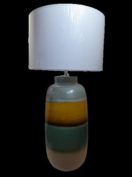 Lampa DUBAI, ceramica, multicolor, 49.5x23.5 cm imagine 2021 lotusland.ro
