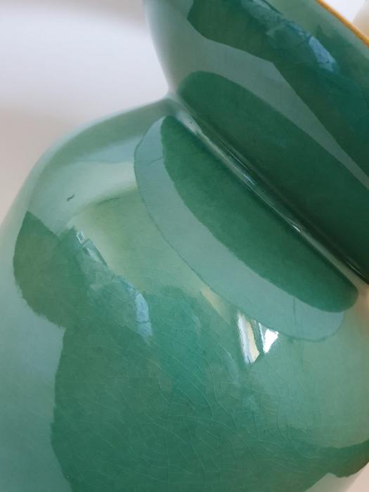 Lampa HERITAGE, ceramica, turquoise, 42x16.5 cm 1
