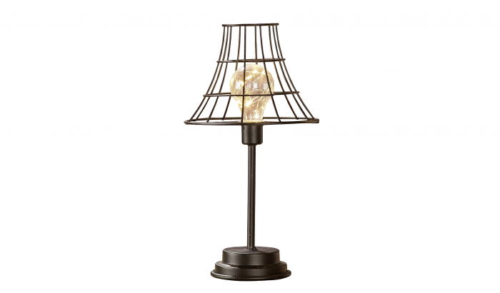 Lampa cu bec LED, metal, 33.5x17.5 cm 0
