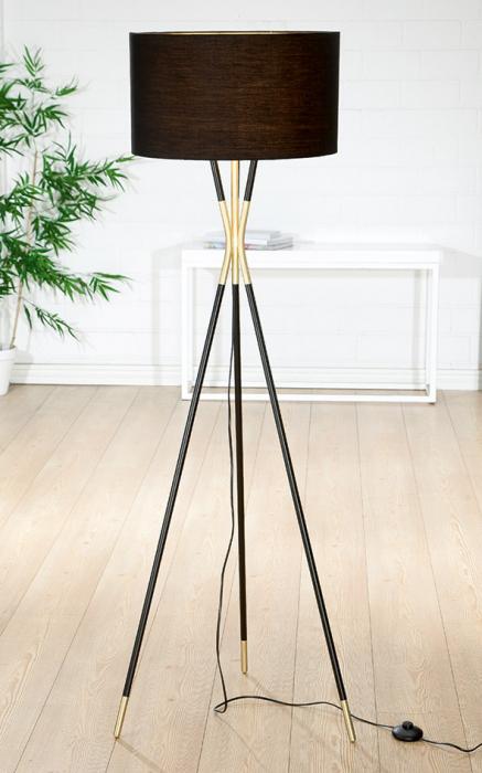 Lampadar TROIS, lemn/metal, 155 x 51 cm 0
