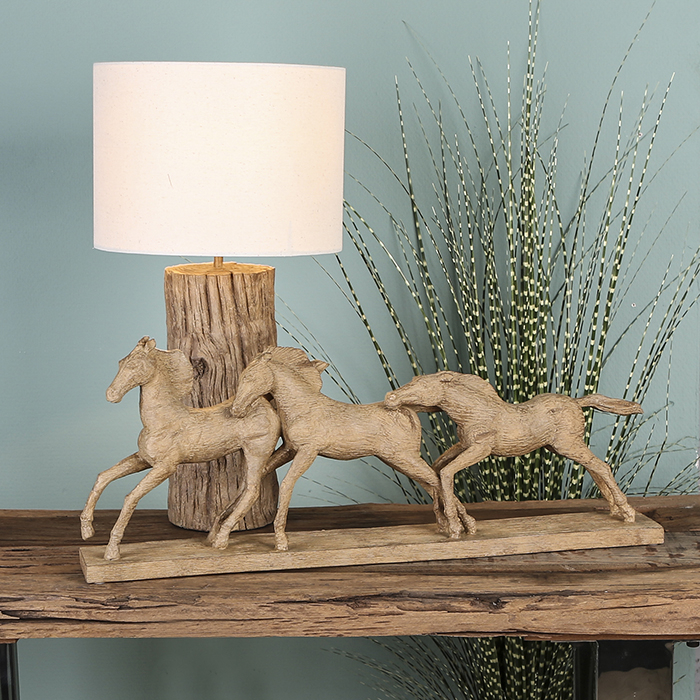 Lampa TRUNK, lemn, 50x26 cm 1
