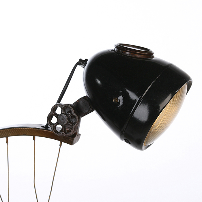 Lampa CYCLE, metal, 64x35x23 cm 3