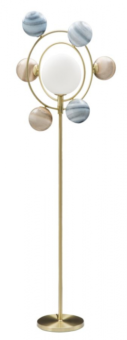 Lampadar UNIVERSO (cm) 80X50X195 imagine 2021 lotusland.ro