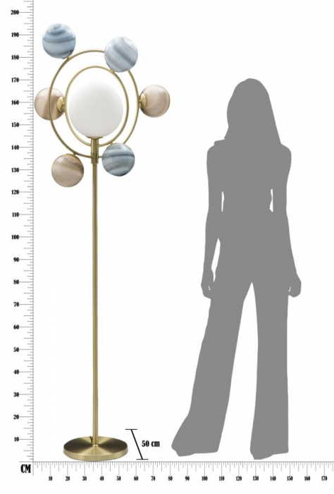 Lampadar  UNIVERSO (cm) 80X50X195 7