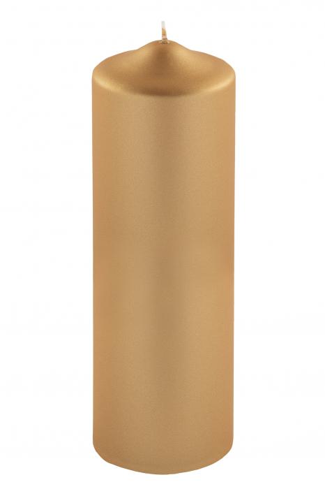 Lumanare Candle, Parafina, Auriu, 32.20x2.20x27.10 cm lotusland.ro
