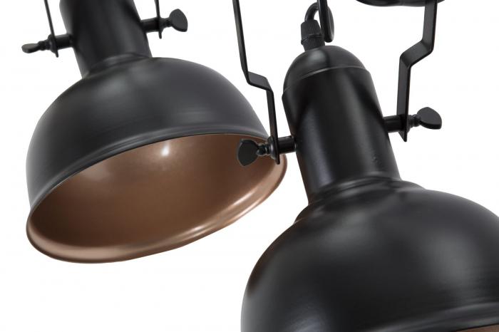 Lustra CUPS negru (cm) 96,5X16,5X84,5 5