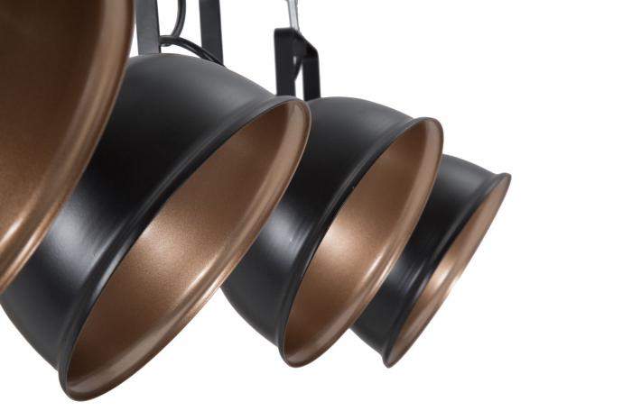 Lustra CUPS negru (cm) 96,5X16,5X84,5 3