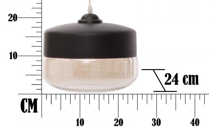 Lustra ELEGANT-ONE (cm) Ø 24X14 6