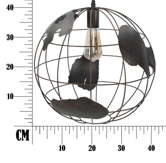Lustra WORLD INDUSTRY (cm) Ø 40 7