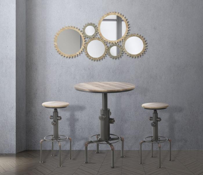 Masa de bar FIFTH AVENUE, 81.3X106.8 cm, Mauro Ferretti 8