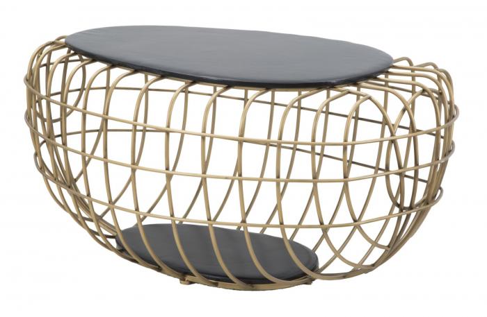 Masa de cafea GOLD SPIDER, 119X75X55 cm, Mauro Ferretti [2]