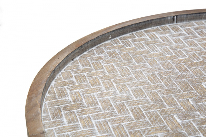 Masuta AREX 2 rafturi (cm)  Ø 48X54,5 5