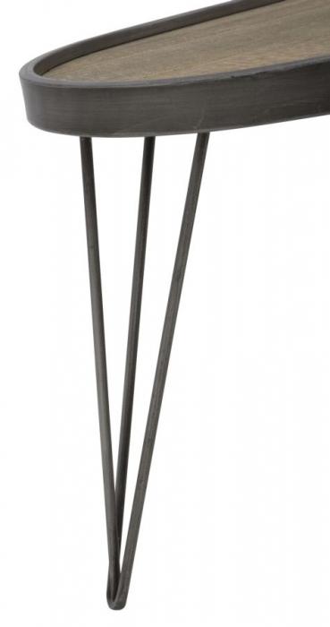 Masuta de cafea RAW, 113X61X40 cm, Mauro Ferretti 3
