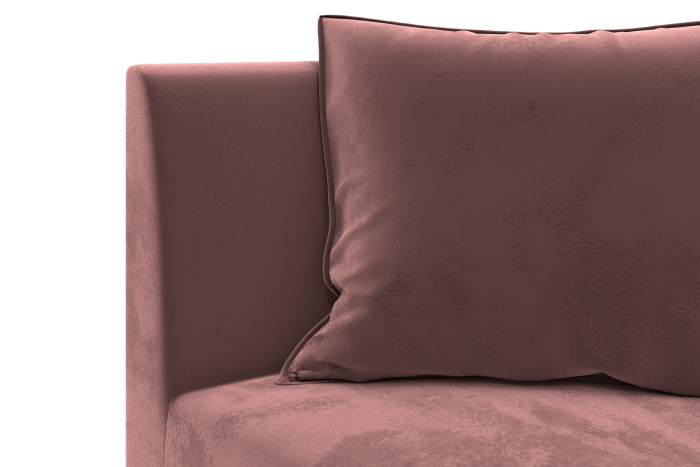Modul de colt Tina, Roz, 88x82x88 cm 3