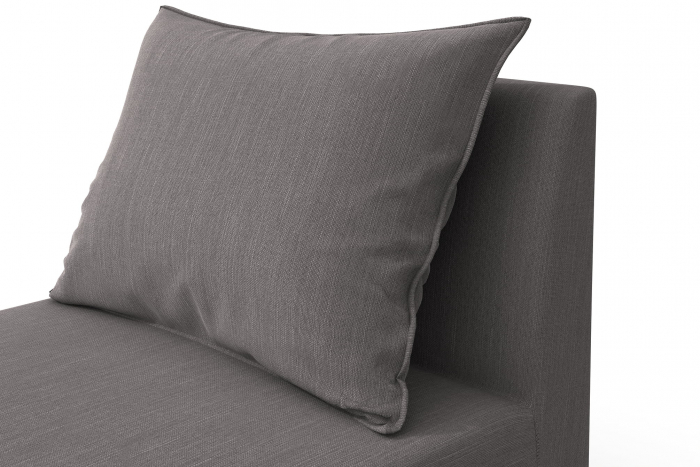 Modul de mijloc Tina, Gri, 105x82x88 cm 5