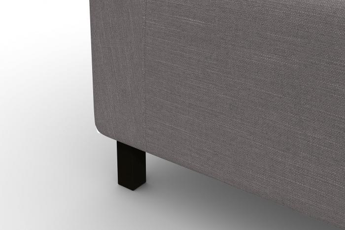 Modul de mijloc Tina, Gri, 105x82x88 cm 6
