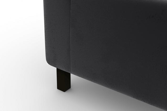 Modul de mijloc Tina, Gri inchis, 105x82x88 cm 6